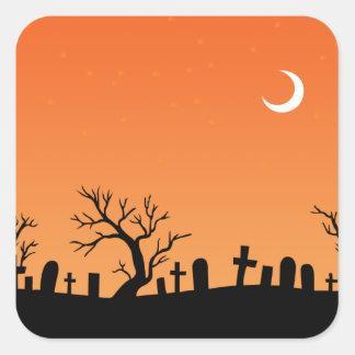 Halloween Graveyard Stickers