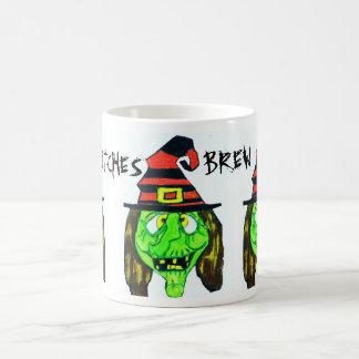 HALLOWEEN GREEN WITCH mug