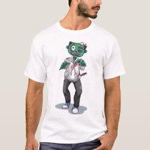 Halloween Green Zombie | Holidays T-Shirt