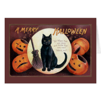 Halloween Greeting by Ellen Clapsaddle Card
