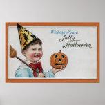 Halloween GreetingJolly Halloween Poster
