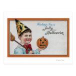 Halloween GreetingJolly Halloween Tarjeta Postal