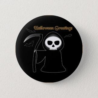 Halloween Greetings Button
