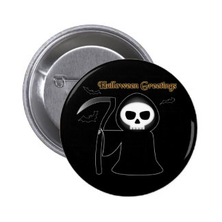 Halloween Greetings 2 Inch Round Button