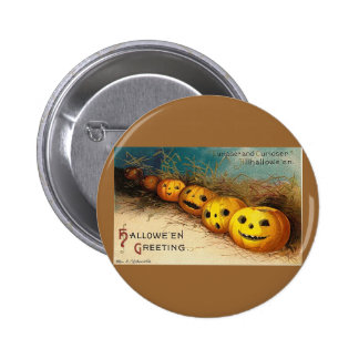 Halloween Greetings Buttons