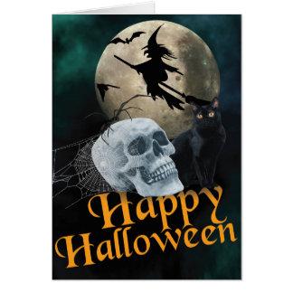 Halloween Greetings Card