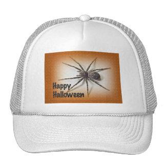 Halloween Greetings - Dolomedes tenebrosus Spider Trucker Hat