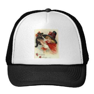 Halloween Greetings - Frances Brundage Trucker Hat