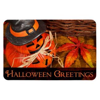 Halloween Greetings Magnet