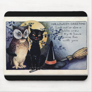 Halloween Greetings! Mouse Pad