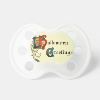 Halloween Greetings Pacifier