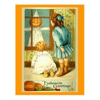 """Halloween Greetings"" Post Cards"