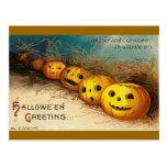 Halloween Greetings Postcards
