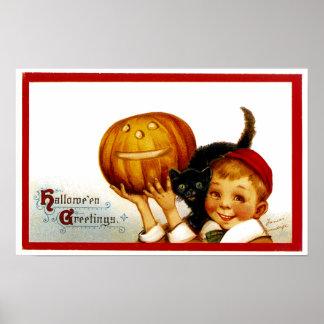 Hallowe'en Greetings Posters