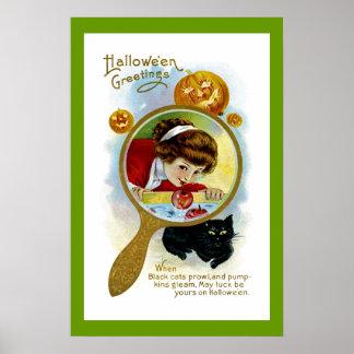 Halloween Greetings Print