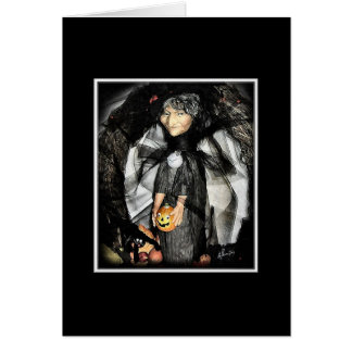 Halloween Greetings Stationery Note Card
