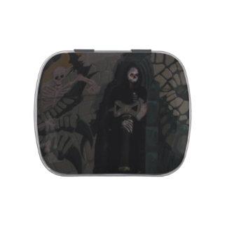 Halloween Grim Reaper Candy Tin