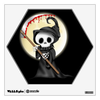 Halloween Grim reaper wall decal