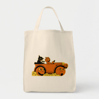 Halloween Grocery Tote Bag