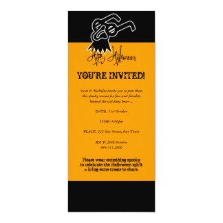 Halloween Groucho Mask Invitation