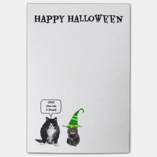 Halloween Grumpy Cat / Cut Kitten Post-It-Notes Post-it® Notes