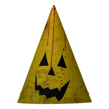 Halloween Themed Halloween Grungy Blood Ghost Crazy Party Hat