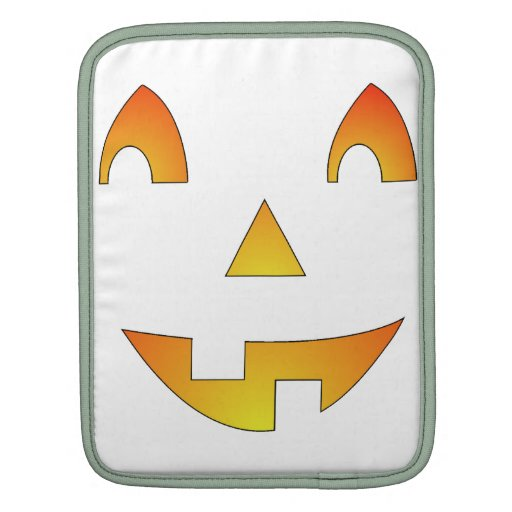 Halloween hace frente mangas de iPad
