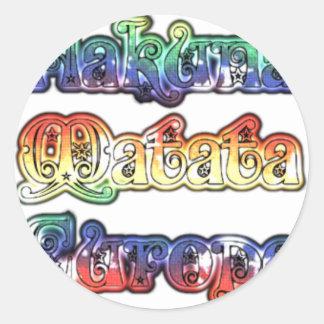 Halloween Hakuna Matata Europe.png Classic Round Sticker