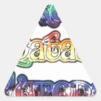 Halloween Hakuna Matata Europe.png Triangle Sticker
