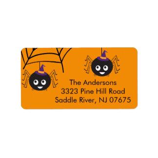 Halloween Hang with Us Return Address Label