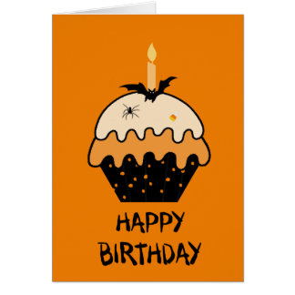 Happy Halloween Birthday Greeting Cards | Zazzle