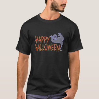 Halloween - Happy Halloween Ghost T-Shirt