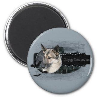 Halloween - Happy Howloween - German Shepherd Fridge Magnets