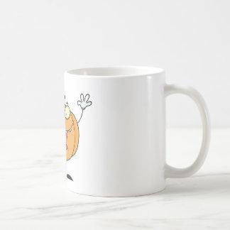 Halloween Happy Pumkin With Bag Coffee Mug