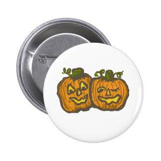 Halloween Happy Pumpkin Customizable Products 2 Inch Round Button