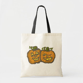 Halloween Happy Pumpkin Customizable Products Budget Tote Bag