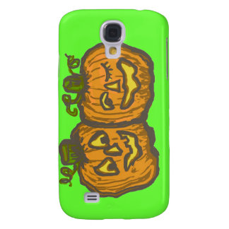Halloween Happy Pumpkin Customizable Products Galaxy S4 Cases
