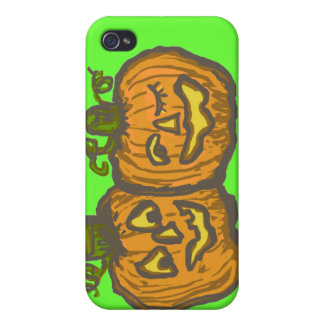 Halloween Happy Pumpkin Customizable Products iPhone 4/4S Cover