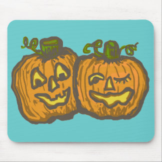 Halloween Happy Pumpkin Customizable Products Mouse Pad