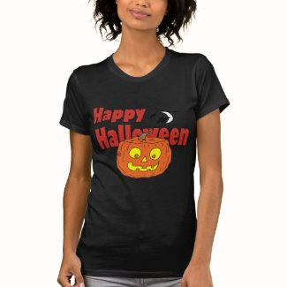 HALLOWEEN Happy Pumpkin T Shirts