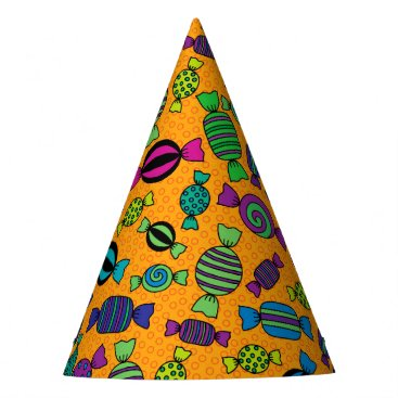 Halloween Themed Halloween Hard Candy Treats Party Hat