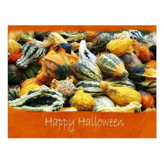 Halloween Harvest 5 - Happy Halloween Postcard