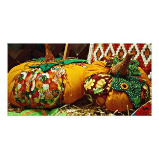 Halloween Harvest from Andorra Photocard Card