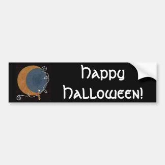 Halloween & Harvest Moon Sticker