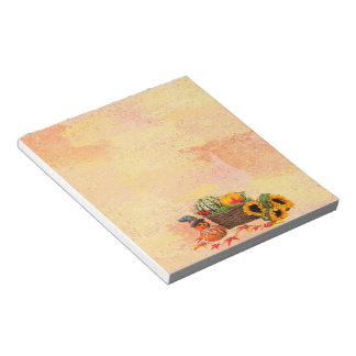 Halloween Harvest Notepad