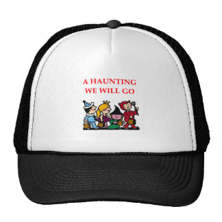 halloween trucker hat