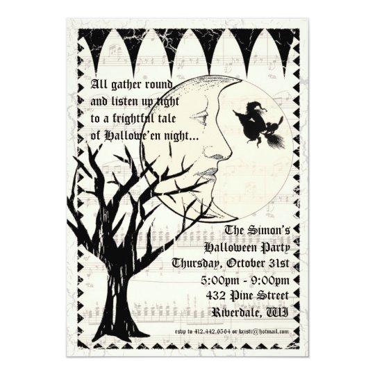 Halloween Haunt Gothic Party Invitation