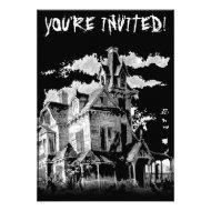 HALLOWEEN HAUNT INVITATION