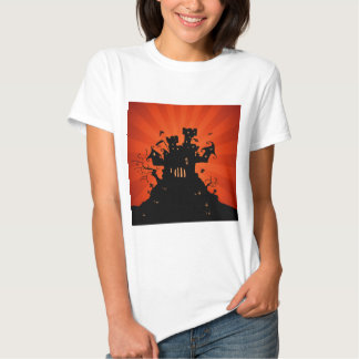 Halloween Haunted Castle T Shirts