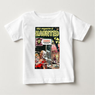 Halloween Haunted Comic Book Baby T-Shirt